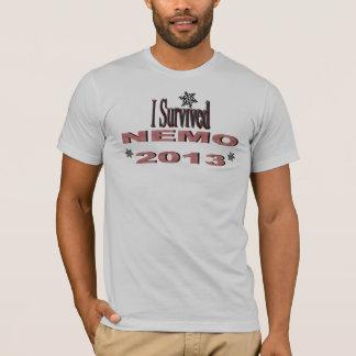 I Survived NEMO 2013 Shirt