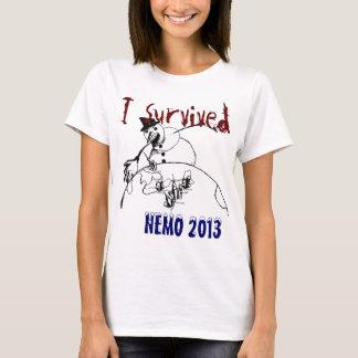 I Survived Nemo 2013 T-Shirt