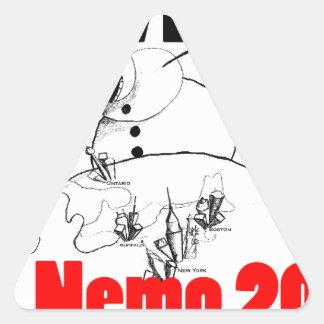 I survived Nemo 2013 Triangle Sticker