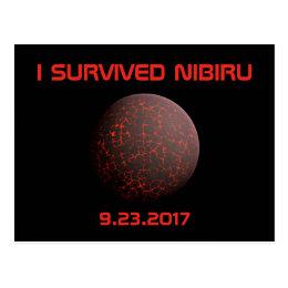 I Survived Nibiru Postcard