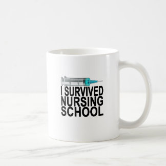 I survived nursing school Women's T-Shirts Coffee Mug