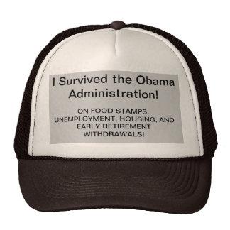 I SURVIVED OBAMA HAT