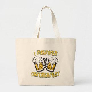 I Survived Oktoberfest Canvas Bags