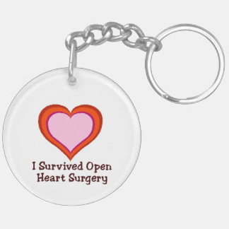 I Survived Open Heart Surgery2 Keychain