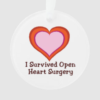 I Survived Open Heart Surgery2 Ornament