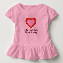 I Survived Open Heart Surgery2 Toddler T-shirt