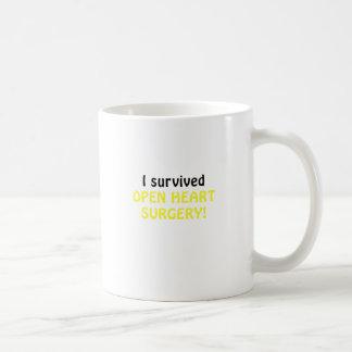 I Survived Open Heart Surgery Coffee Mug