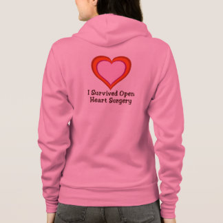 I Survived Open Heart Surgery Hoodie