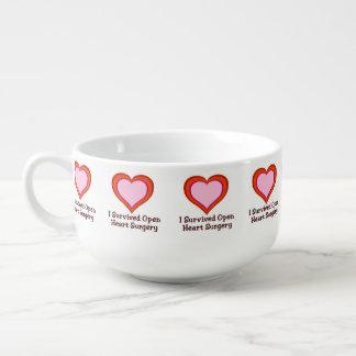 I Survived Open Heart Surgery Soup Mug