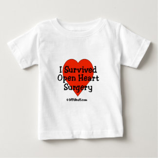 I Survived Open Heart Surgery T Shirts