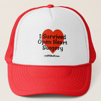I Survived Open Heart Surgery Trucker Hat