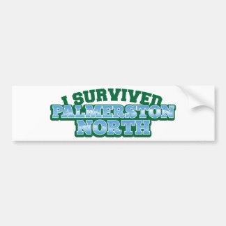 I Survived PALMERSTON NORTH Bumper Sticker