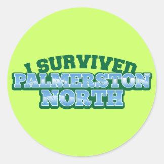 I Survived PALMERSTON NORTH Classic Round Sticker