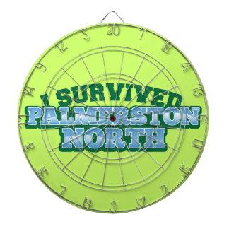 I Survived PALMERSTON NORTH Dartboard