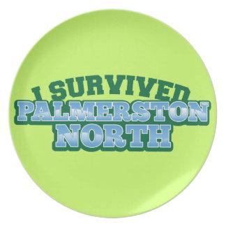 I Survived PALMERSTON NORTH Dinner Plate