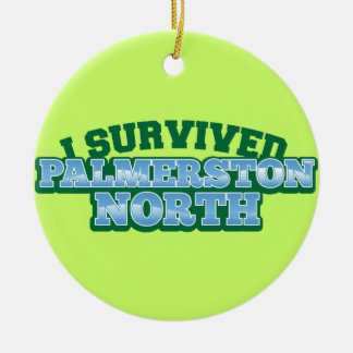 I Survived PALMERSTON NORTH Christmas Tree Ornaments