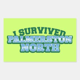 I Survived PALMERSTON NORTH Rectangular Sticker