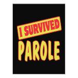 I SURVIVED PAROLE CUSTOM INVITE