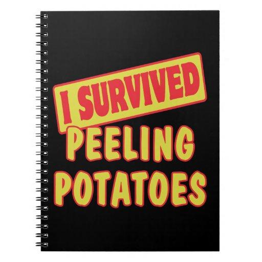 I SURVIVED PEELING POTATOES NOTEBOOKS