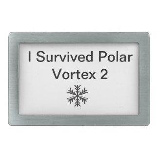 I Survived Polar Vortex 2 Belt Buckle