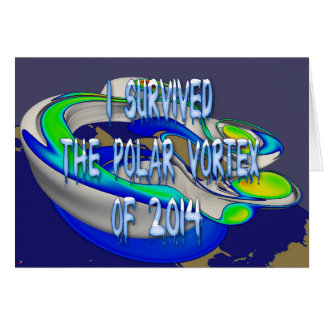 I Survived Polar Vortex of 2014 Rendering Card