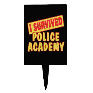 I SURVIVED POLICE ACADEMY CAKE PICKS