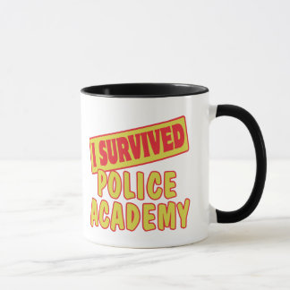 I SURVIVED POLICE ACADEMY MUG