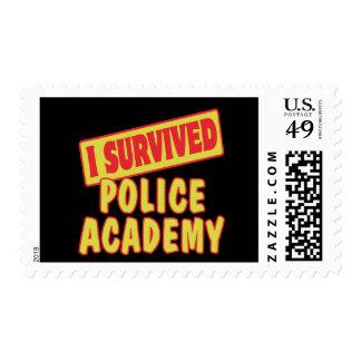 I SURVIVED POLICE ACADEMY POSTAGE