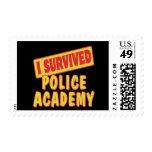I SURVIVED POLICE ACADEMY STAMP