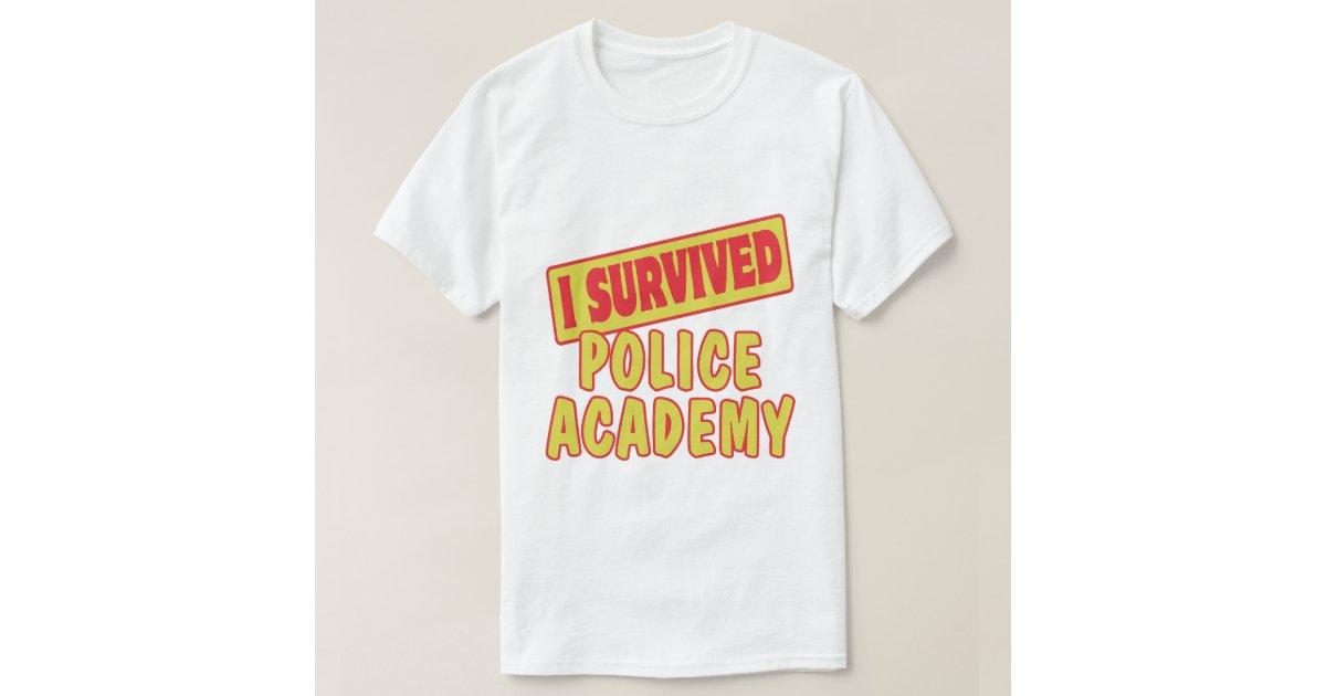 Police Academy T Shirt Designs
