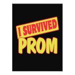 I SURVIVED PROM INVITE