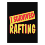 I SURVIVED RAFTING PERSONALIZED INVITATION