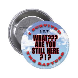 """""""I survived...rapture"""" #7 2 Inch Round Button"""