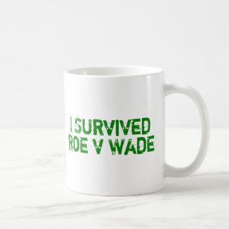 I Survived Roe V Wade Coffee Mug