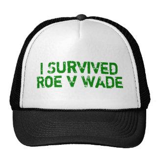 I Survived Roe V Wade Hat