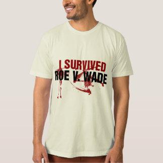 I survived Roe V Wade T Shirt