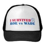 I survived Roe vs Wade (hand) Mesh Hats