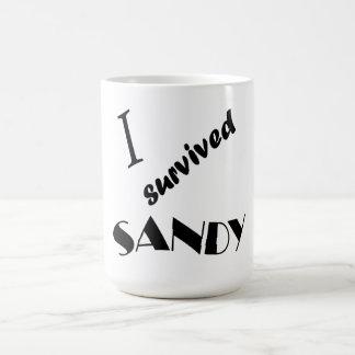 I survived Sandy 5 Classic White Coffee Mug