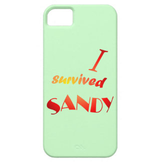 I survived Sandy 6 iPhone SE/5/5s Case