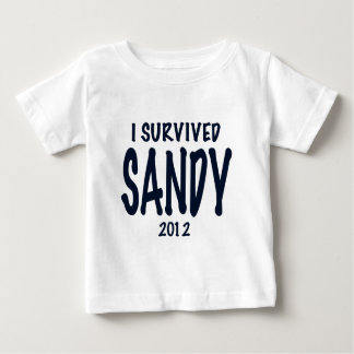 I Survived Sandy Baby T-Shirt
