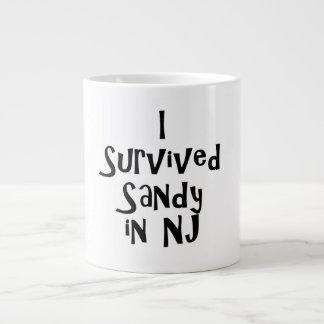 I Survived Sandy in NJ.png 20 Oz Large Ceramic Coffee Mug