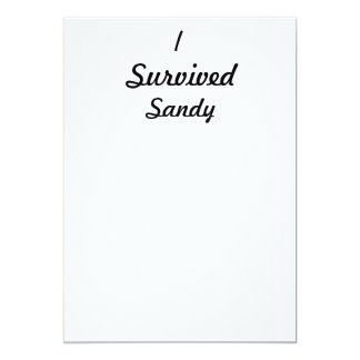 I survived Sandy! Personalized Invites