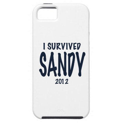 I Survived Sandy iPhone 5 Cover