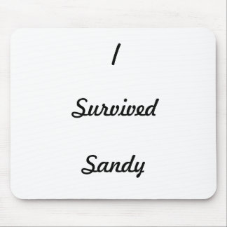 I survived Sandy! Mouse Pad