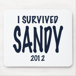 I Survived Sandy Mouse Pad