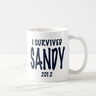 I Survived Sandy Coffee Mugs