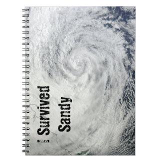 I Survived Sandy Notebook
