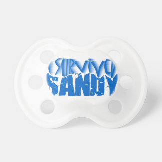 i survived SANDY Baby Pacifier