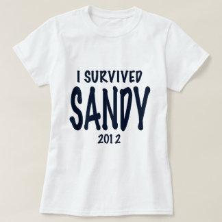 I Survived Sandy T Shirt