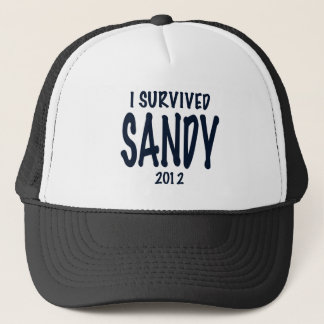 I Survived Sandy Trucker Hat